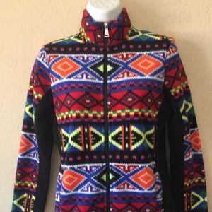 Ralph Lauren Tribal Aztec Full Zip Fleece Jacket